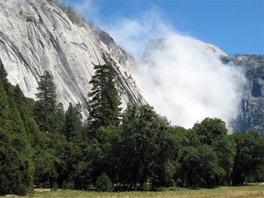 Yosemite Falling Rocks