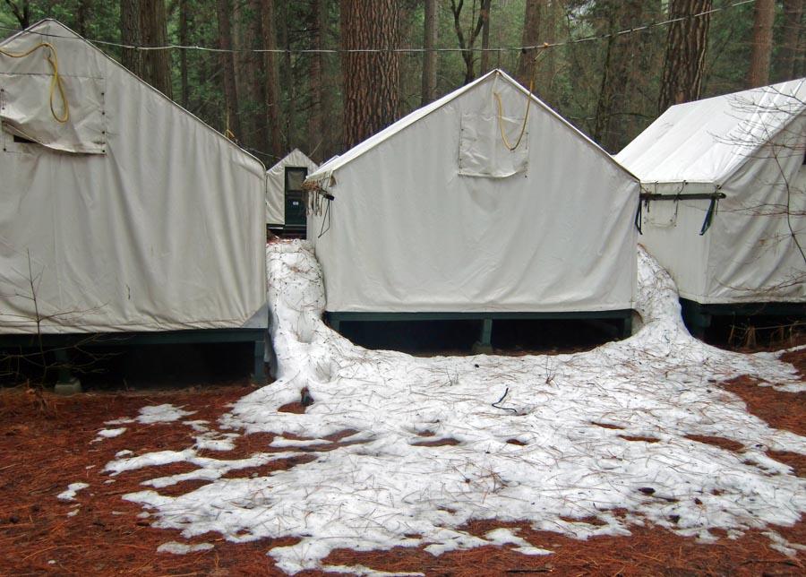 This ... & Tent Cabins in Winter u0026 Permit u/d | MrHalfDomeu0027s Blog