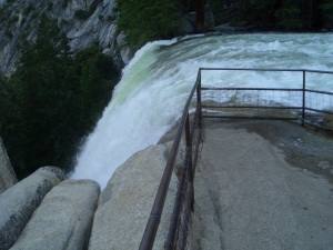 317 ft high  Vernal fall